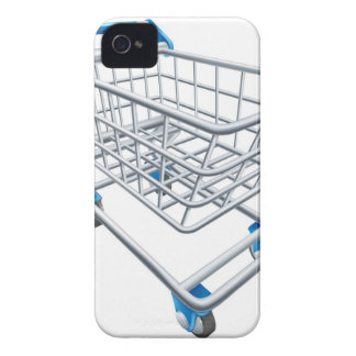 Supermarket shopping cart trolley iPhone 4 cover