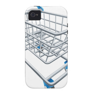 Supermarket shopping cart trolley iPhone 4 cases