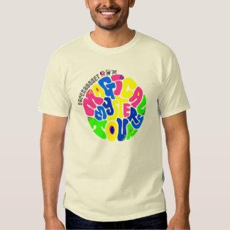 Supermercado - camiseta mágica del viaje del poleras