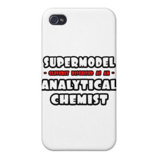 Supermodel .. Analytical Chemist Cover For iPhone 4
