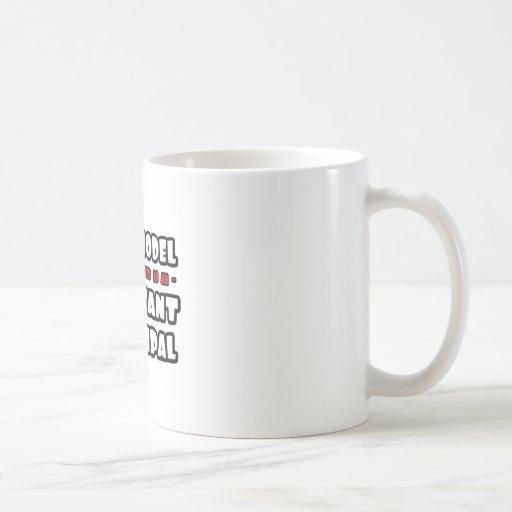 Supermodel .. Assistant Principal Classic White Coffee Mug