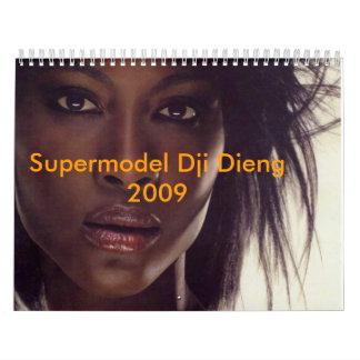 Supermodel Dji Dieng 2009 Calendar