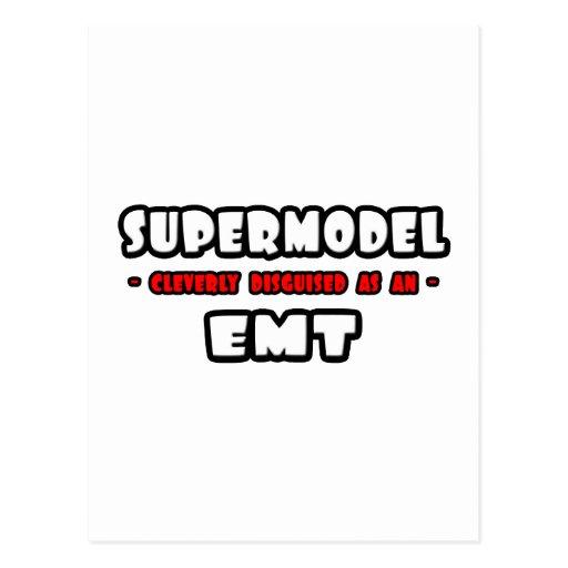 Supermodel .. EMT Postcard