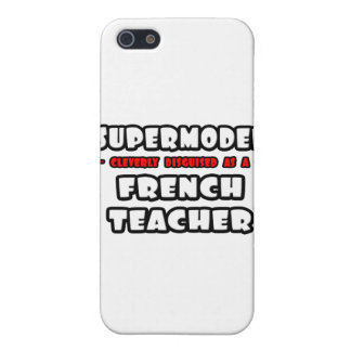 Supermodel .. French Teacher iPhone 5 Cases