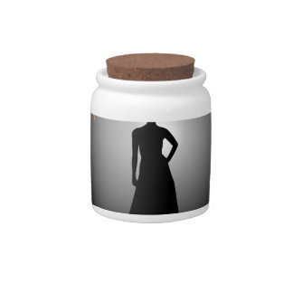 Supermodel Graphic Candy Jars