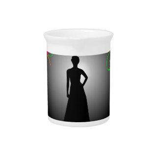 Supermodel Graphic Drink Pitcher