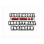 Supermodel .. Industrial Engineer Postcard