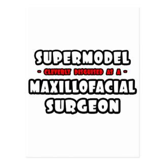 Supermodel .. Maxillofacial Surgeon Postcard