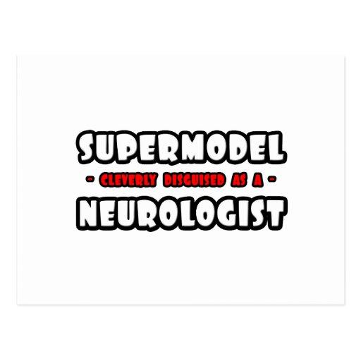 Supermodel .. Neurologist Postcard