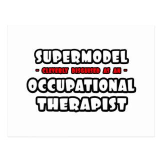 Supermodel .. Occupational Therapist Postcard
