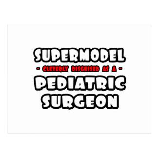 Supermodel .. Pediatric Surgeon Postcard
