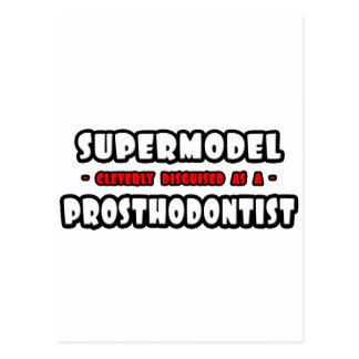 Supermodel .. Prosthodontist Postcard