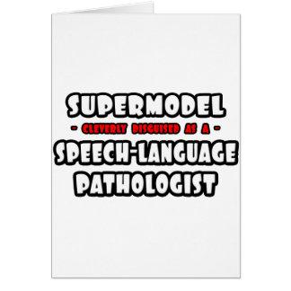 Supermodel .. Speech-Language Pathologist Cards