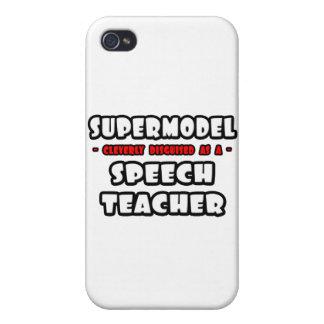 Supermodel .. Speech Teacher Cover For iPhone 4