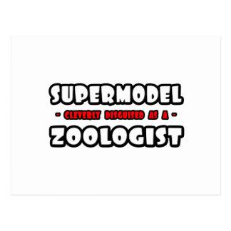 Supermodel .. Zoologist Postcard