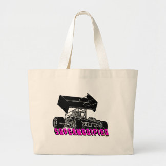 Supermodified w/pink letters bags