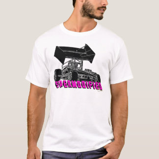 Supermodified w/pink letters T-Shirt