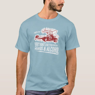 Supermodified Wings & Alcohol T-Shirt