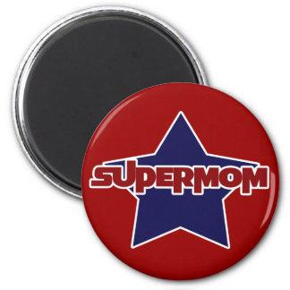Supermom 2 Inch Round Magnet