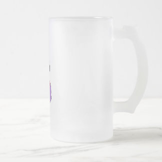 Supermom African Frosted Glass Beer Mug
