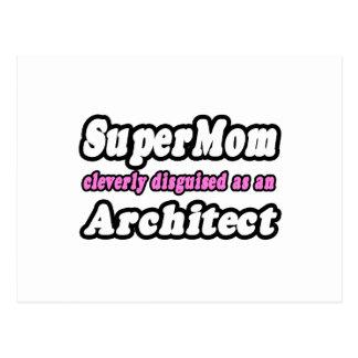 SuperMom Architect Postcards