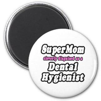 SuperMom...Dental Hygienist Refrigerator Magnet