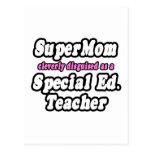SuperMom… Ed especial. Profesor Postal