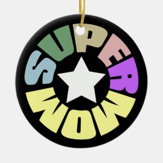 SuperMom: Mi madre es mi superhéroe Adorno Para Reyes