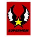 SuperMom: Mi madre es mi superhéroe Felicitaciones