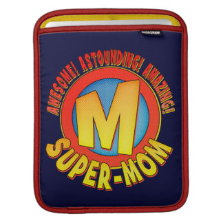 Supermom Mother's Day Rickshaw iPad Sleeve