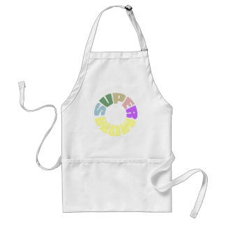 SuperMom: My mother is my super hero Adult Apron