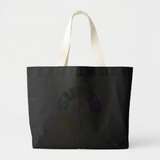 SuperMom: My mother is my super hero Large Tote Bag