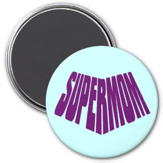 SuperMom: My mother is my super hero Magnet