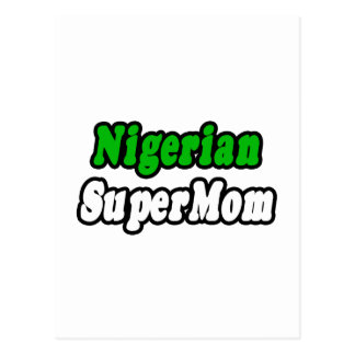SuperMom nigeriano Postales