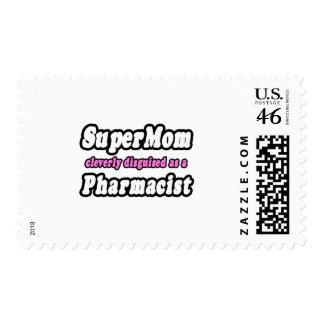 SuperMom Pharmacist Stamp