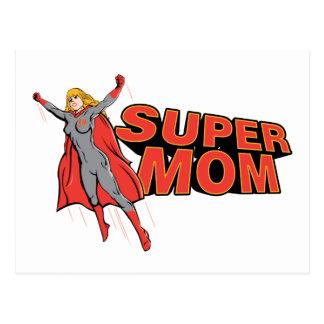 Supermom Postcard