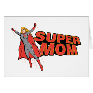 Supermom Tarjeta De Felicitación