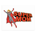 Supermom Tarjetas Postales