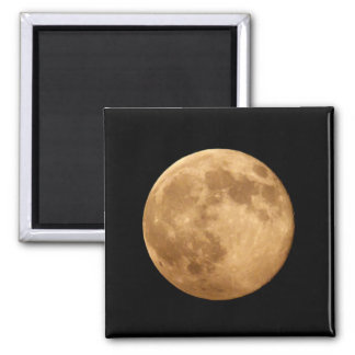 Supermoon 2 Inch Square Magnet