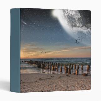 Supermoon Beach Binder