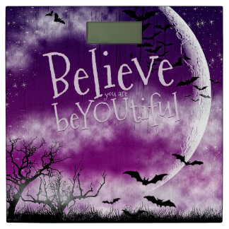 SuperMoon Believe you are beYOUtiful Bathroom Scale