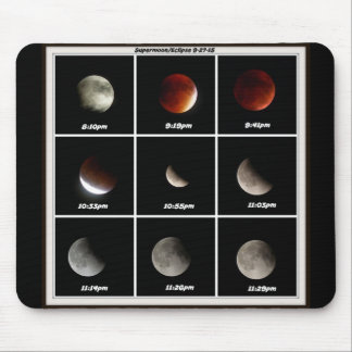 Supermoon & Eclipse Mouse Pad