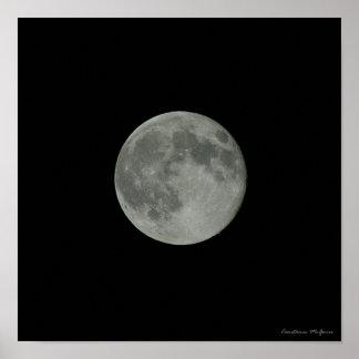 Supermoon Full Moon Night Sky Posters
