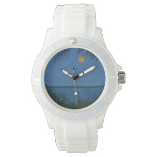 SUPERMOON RISING Wall Clock Wristwatch