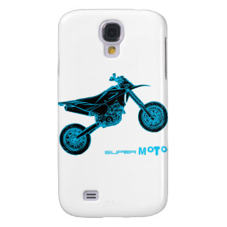 SuperMoto Wheelie Galaxy S4 Case