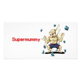 Supermummy Custom Photo Card