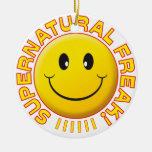 Supernatural Freak Smile Ceramic Ornament