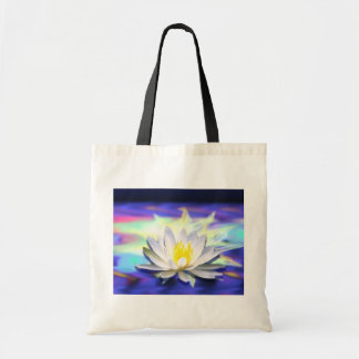 Supernatural Lotus Canvas Bags