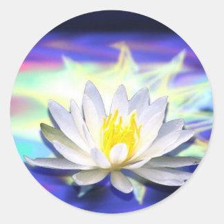 Supernatural Lotus Classic Round Sticker