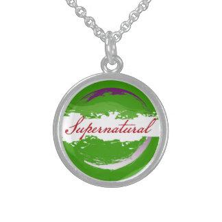 Supernatural Round Pendant Necklace